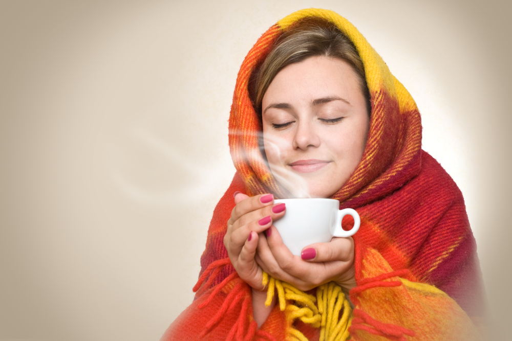 寒いあったまるコーヒー