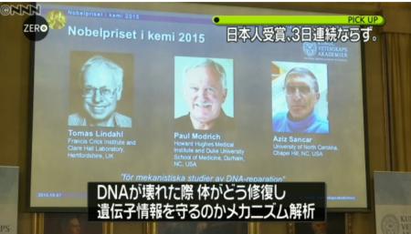 ノーベル賞DNA