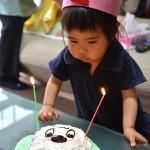 咲風莉が2歳になりました。