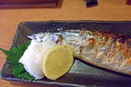 秋刀魚焼き魚