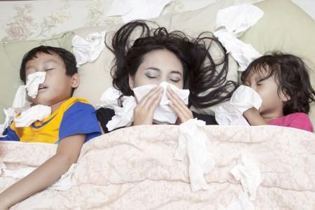 アレルギー家族