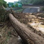 西日本の豪雨による配送の影響